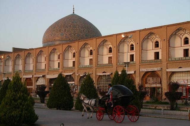 Sheikh Lotf Allah Mosque, Isfahan, Iran