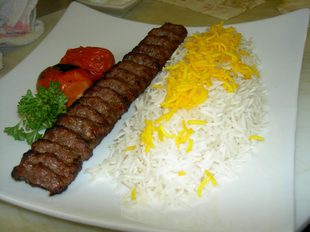 Kabab Kobideh, Persian dishes - Iran Visa